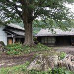中山にある古民家の改修現場